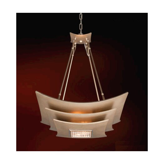 Corbett Lighting Muse 4 Light Inverted Pendant