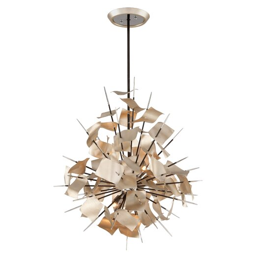 Corbett Lighting Poetry 6 Light Pendant