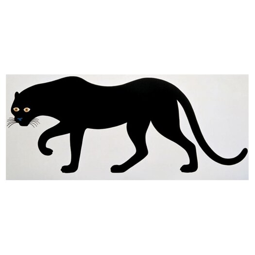 "Danese Milano Art Edition ""Quattro, La Pantera"" The Panther Graphic Art"