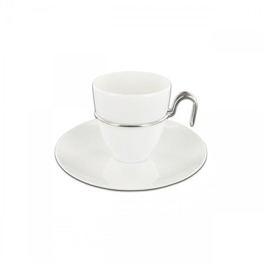 mono Mono Gemiini Coffee Cup with Saucer by Mikaela Dörfel