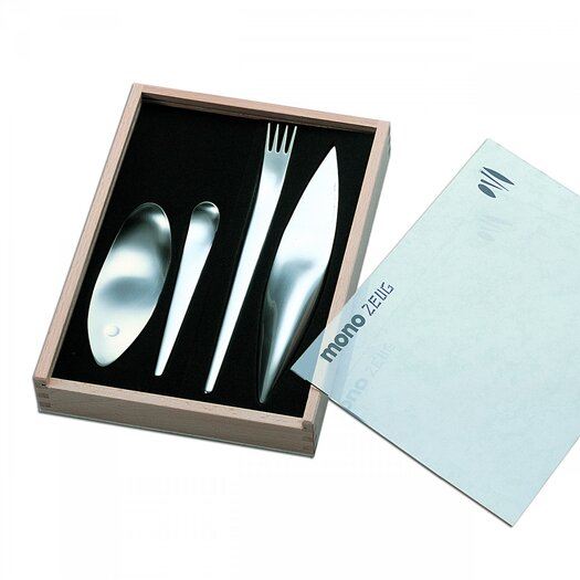 Mono Tools 4 Piece Flatware Set by Michael Schneider