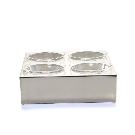 mono Mono Accessories Square Table-Element Salad Bowl