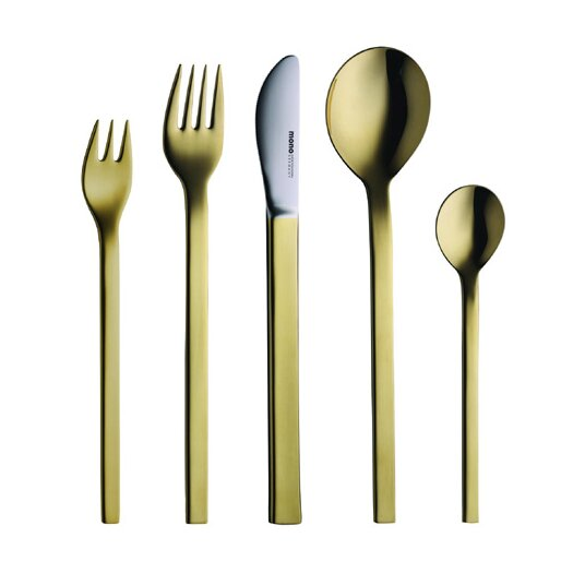 mono Mono-A Edition 50 Collection, Goldplated 5-Piece Set by Peter Raacke