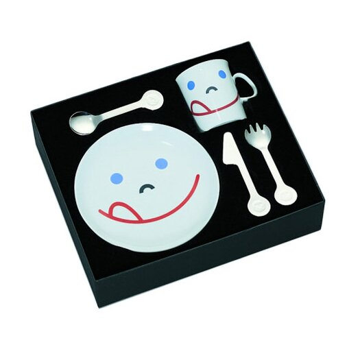 mono Mono Kids Flatware with Smile Child's by Peter Raacke