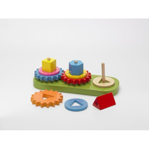 The Original Toy Company Geo Blocks and Gears