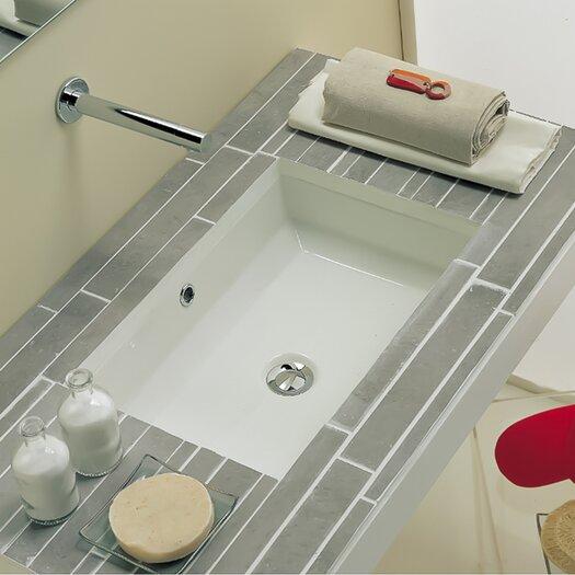 Scarabeo by Nameeks Tech Undermount Bathroom Sink