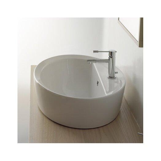 Scarabeo by Nameeks Matty Oval A/R Single Hole Bathroom Sink