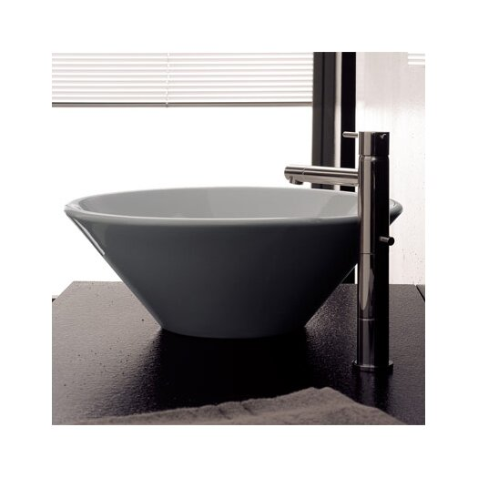 Scarabeo by Nameeks Cono Above Counter Bathroom Sink
