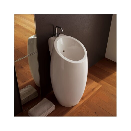 Scarabeo by Nameeks Planet Floor Mounted Bathroom Sink