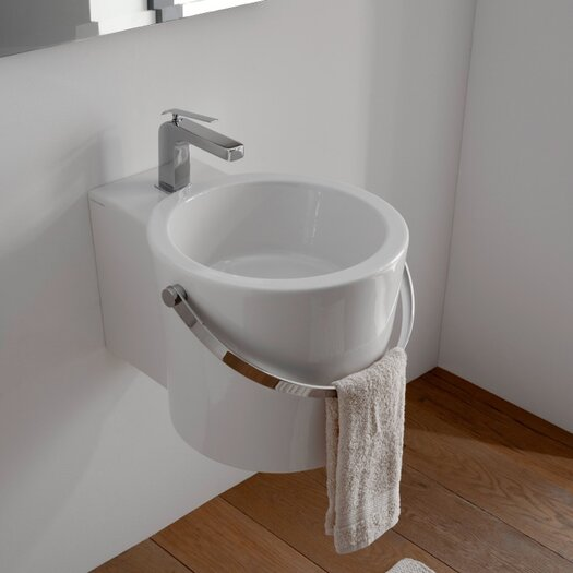 Scarabeo by Nameeks Bucket Bathroom Sink