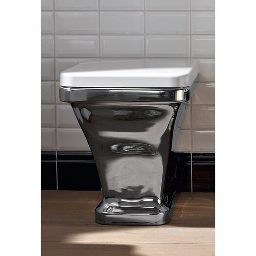 Scarabeo by Nameeks Butterfly 1 Piece Toilet