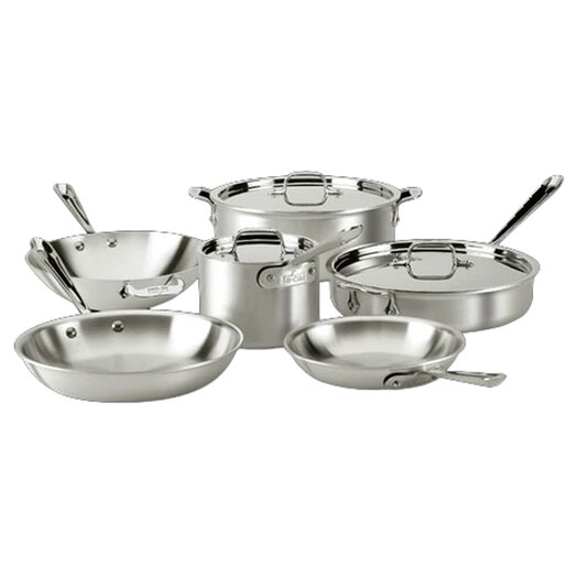 All-Clad Master Chef 9-Piece Cookware Set