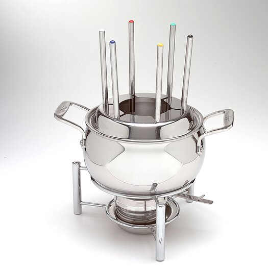 All-Clad 3 Qt. Fondue Pot with Ceramic Insert