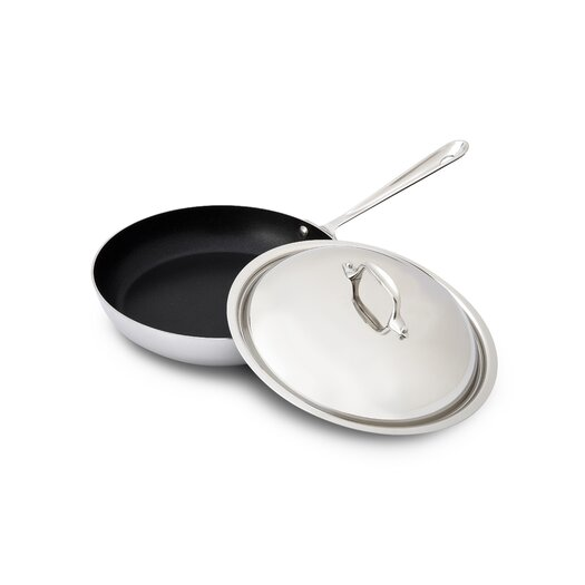 All-Clad Stainless Steel Nonstick French Skillet