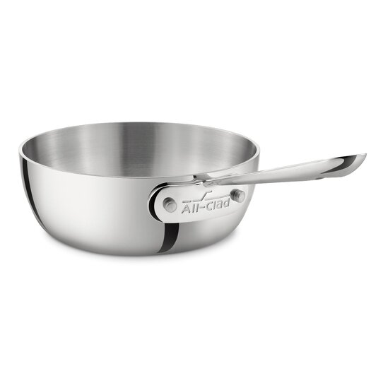 All-Clad Stainless Steel 1-qt. Saucier