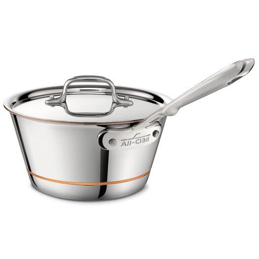 All-Clad Copper Core 2.5-qt. Saucepan with Lid