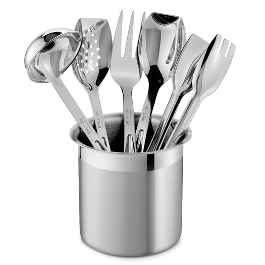 All-Clad All Professional Tools 6 Piece Cook Serve Tool Utensil Set