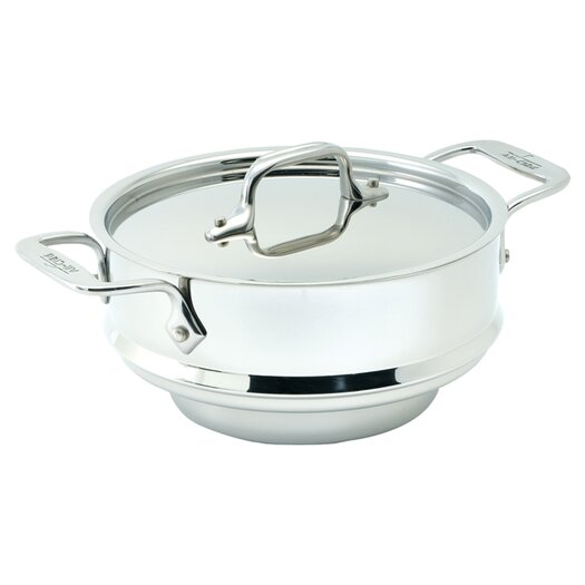 All-Clad Stainless Steel 3 Qt. All Purpose Steamer Insert