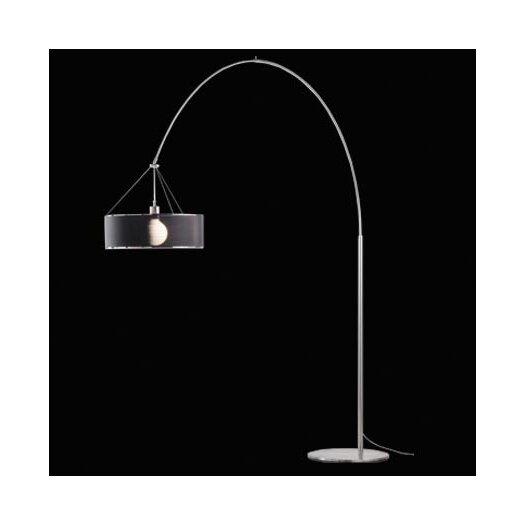 &'Costa Steel Arc 50 Floor Lamp