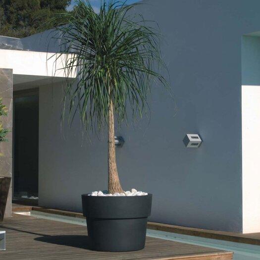 Vaso Fang Round Flower Pot Planter