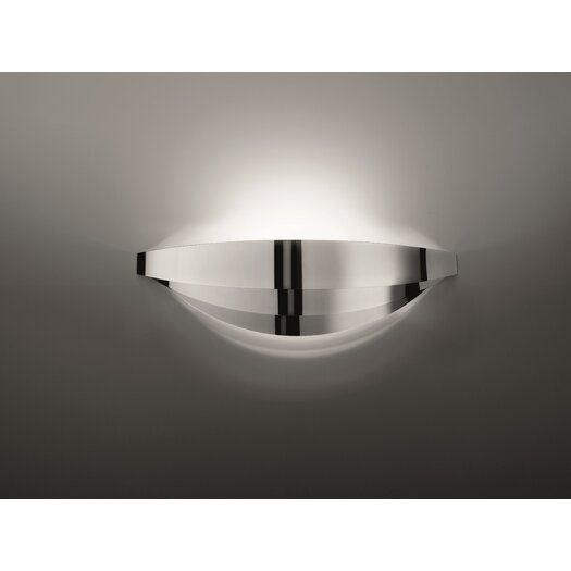 Axo Light Uriel 1 Light Wall Sconce in Chrome