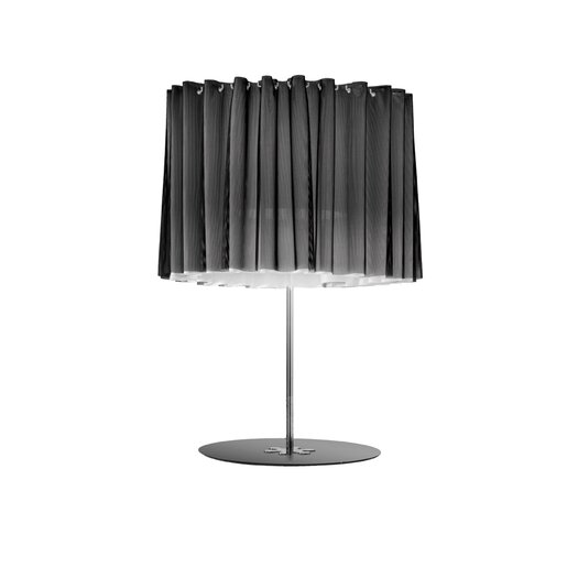 """Axo Light Lightecture Skirt Double 29.5"""" H Table Lamp with Drum Shade"""