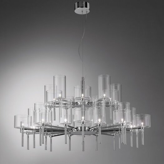 Axo Light Spillray 30 Light Crystal Chandelier