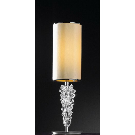 "Axo Light Sub Zero 16.5"" H Table Lamp with Drum Shade"