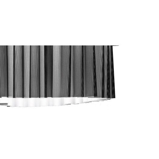 Axo Light Skirt 4 Light Flush Mount with Black Netting (Fluorescent)
