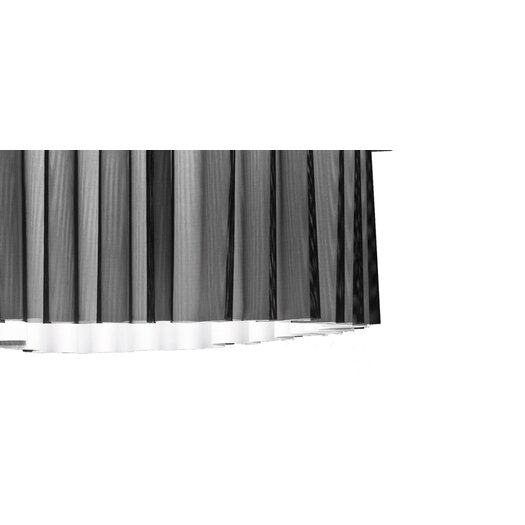 Axo Light Skirt Single Tier Drum Pendant with Black Netting (Fluorescent)