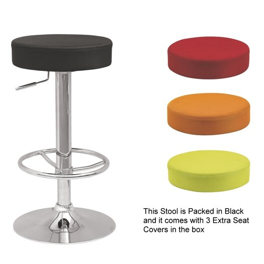 Chintaly Imports Adjustable Height Bar Stool