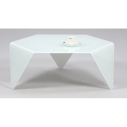 Chintaly Imports Starphire Coffee Table