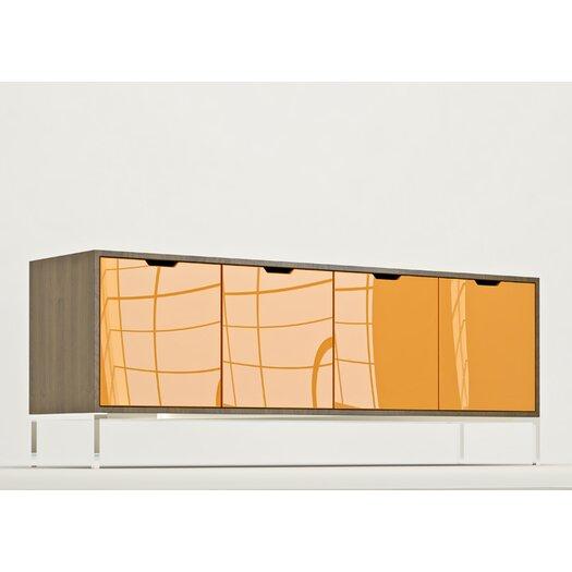 "EK Living Furniture 72"" Storage Crezenda"