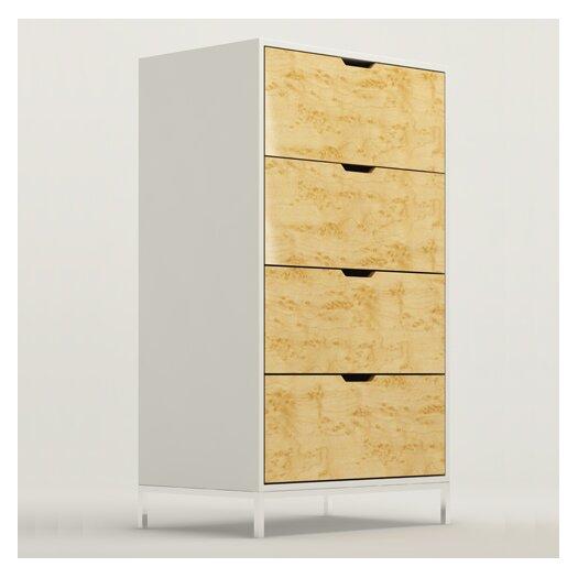 EK Living DR1 4 Drawer Storage Chest