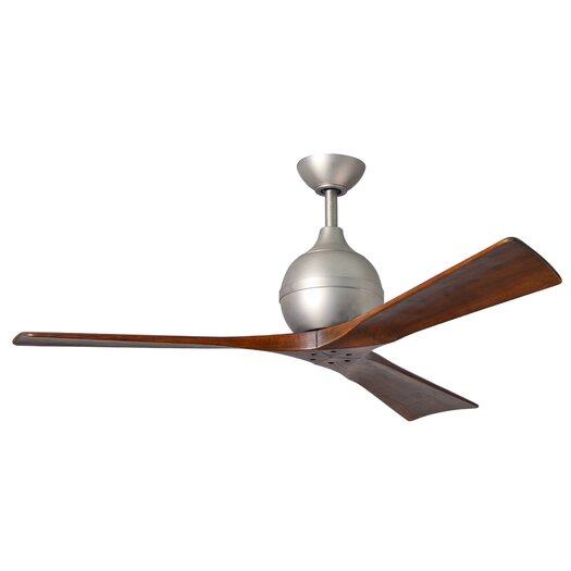 """Matthews Fan Company 52"""" Irene 3 Blade Ceiling Fan with Wall Remote"""