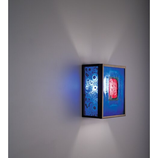 WPT Design Dessy1 1 Light Wall Sconce