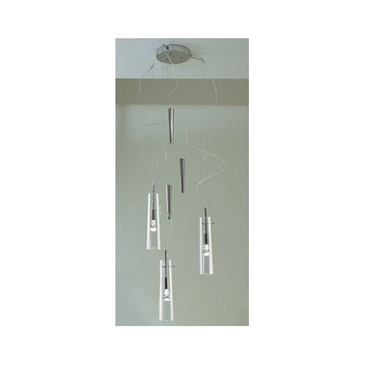 Gamma Delta Group Stilo 3 Light Up And Down Pendant