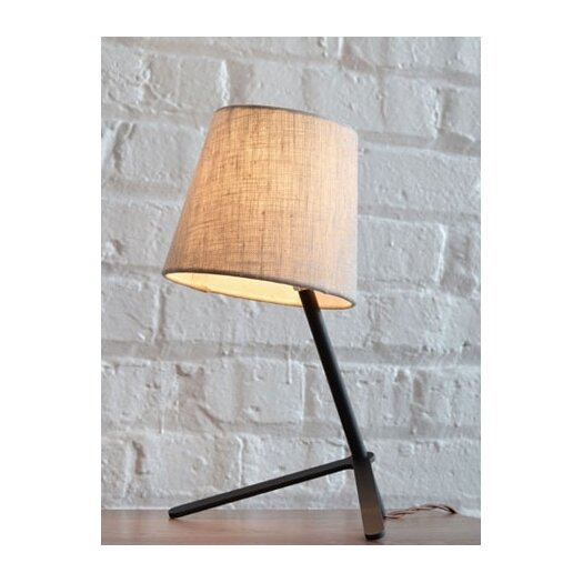 """Misewell Tokyo I 8"""" H Table Lamp with Empire Shade"""