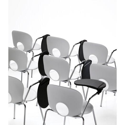 "Rexite Olivia Chair 30"" Tablet Arm Desk"