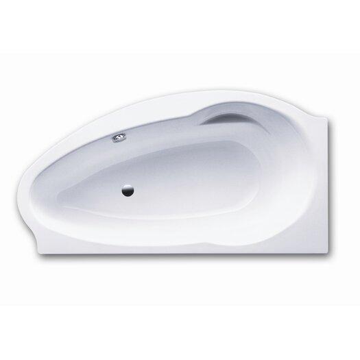 """Kaldewei Atmo 67"""" x 35"""" Right Bathtub"""