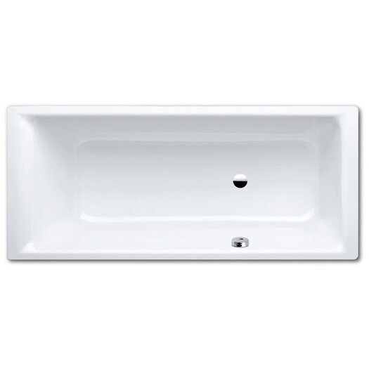 "Kaldewei Puro 67"" x 28"" Three Wall Bathtub with Reversible Drain"