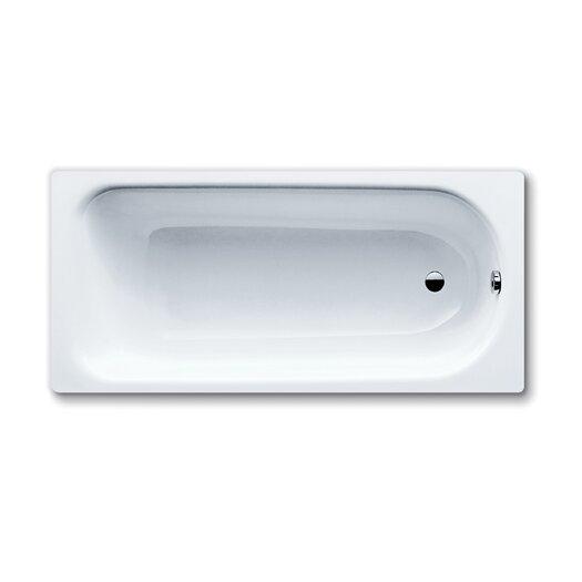 "Kaldewei Saniform Plus 55"" x 30"" Bathtub with Reversible Drain"
