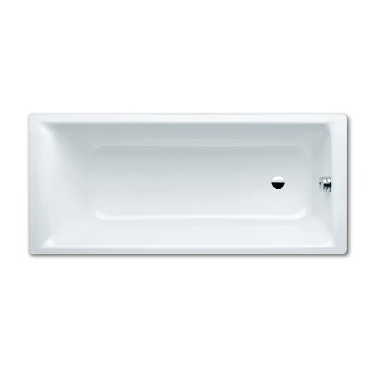 "Kaldewei Puro 63"" x 28"" Three Wall Bathtub with Reversible Drain"