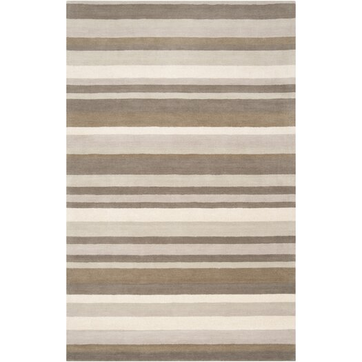 angelo:HOME Madison Square Brindle Brown/Tan Area Rug