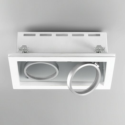 Zaneen Lighting Invisibli Rectangle LED Recessed Trim
