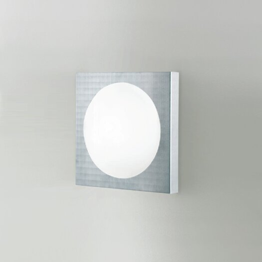 Zaneen Lighting Dome 1 Light Wall Sconce