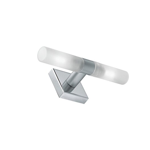 Zaneen Lighting Candle Two Light Flush Mount in Chrome
