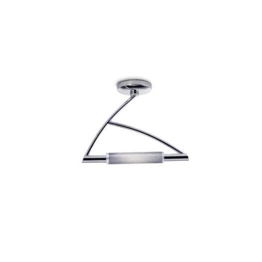 Zaneen Lighting Wing 1 Light Semi Flush