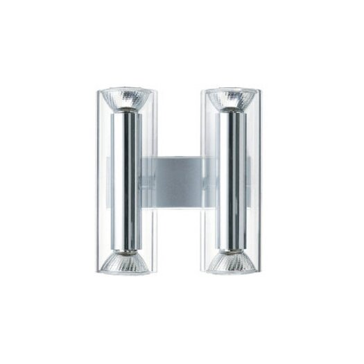 Zaneen Lighting TU-B Dual Vertical 4 Light Wall Sconce