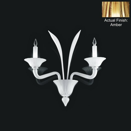 Zaneen Lighting Hermitage 2 Light Wall Sconce